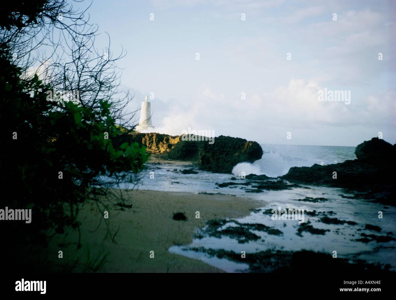 The Vasco da Gama pillar near Malindi Kenya coast East Africa - Stock Image