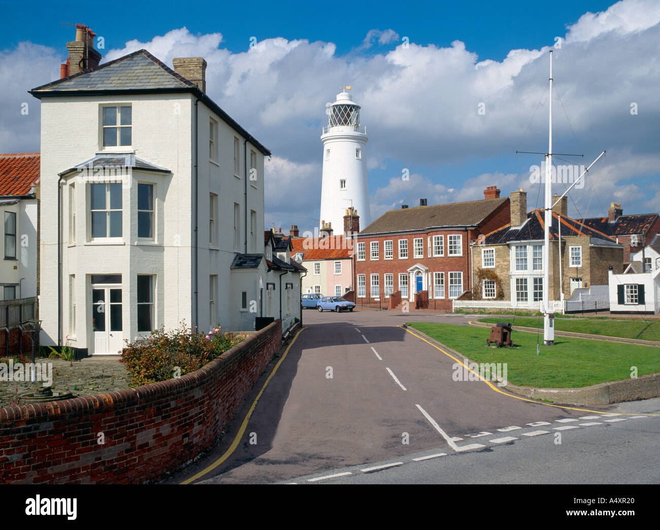 Seaside town of Southwold in Suffolk England UK - Stock Image