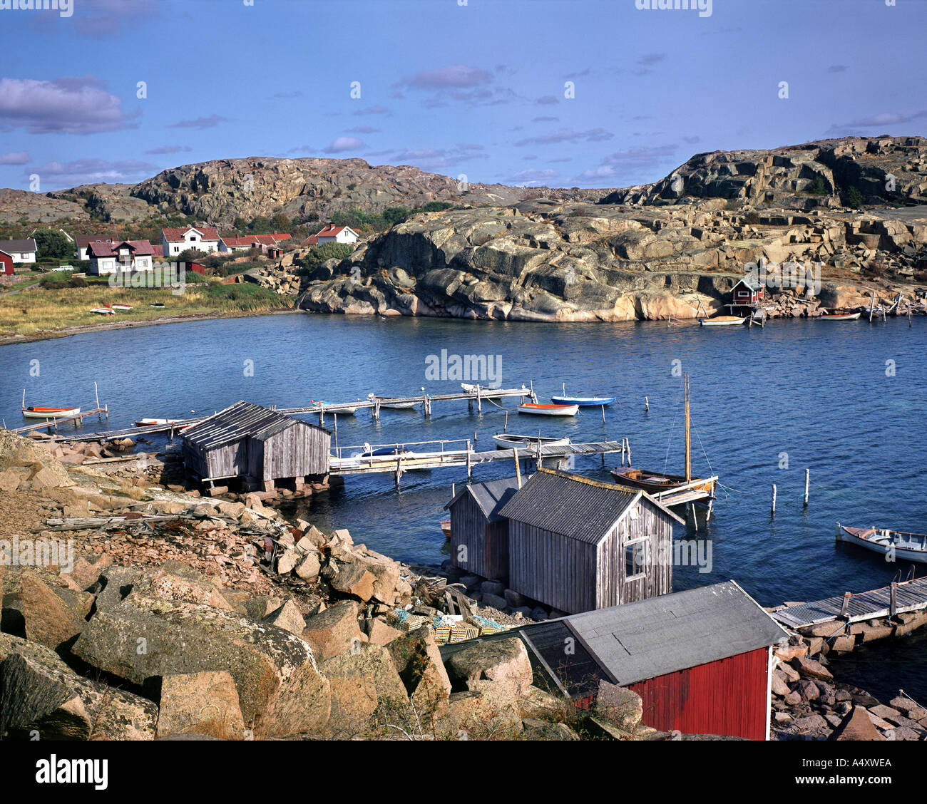SE - BOHUSLAEN: Coast near Heestrand on Skaggerack - Stock Image