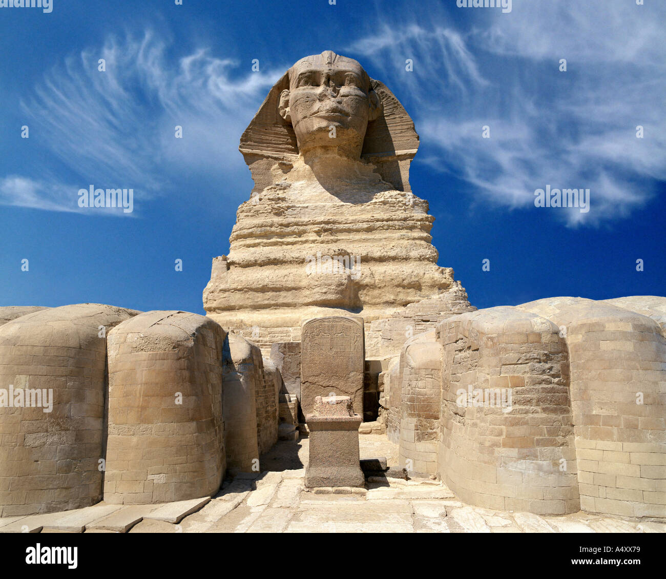 EG - CAIRO: The Sphinx at El Giza - Stock Image