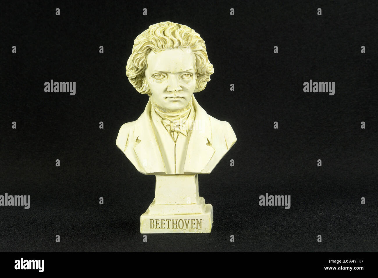 Ludwig van Beethoven born on 16 December 1770 in Bonn, died 26 March 1827 in Vienna, composer - Stock Image