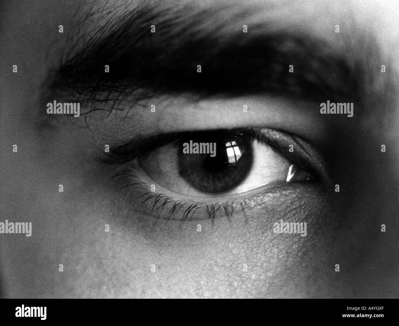 Man`s eye - Stock Image