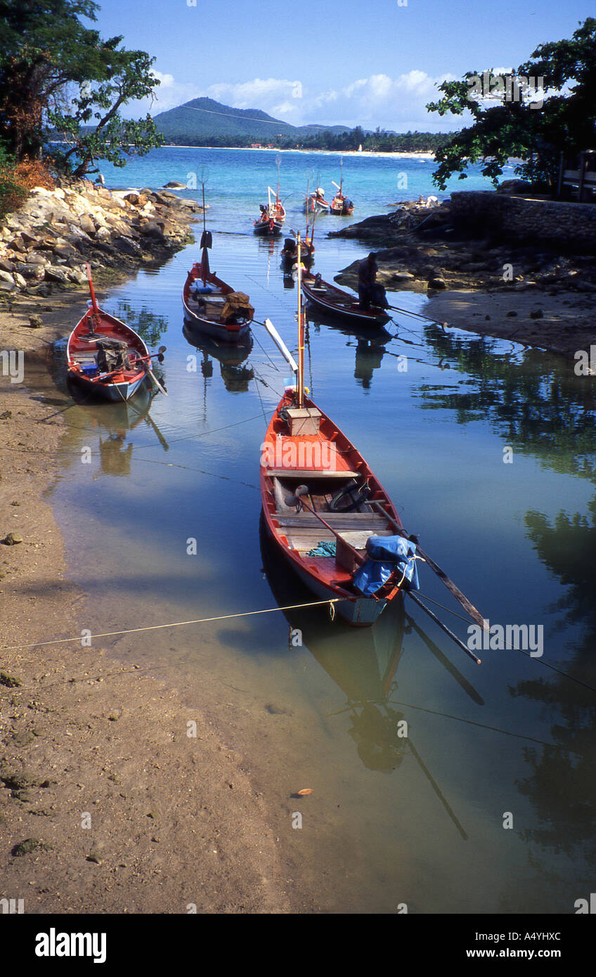 Fisher boats - Stock Image