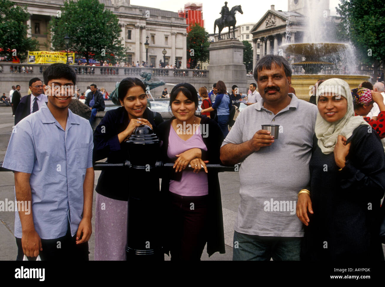 Pakistani Family Uk Stock Photos and Images