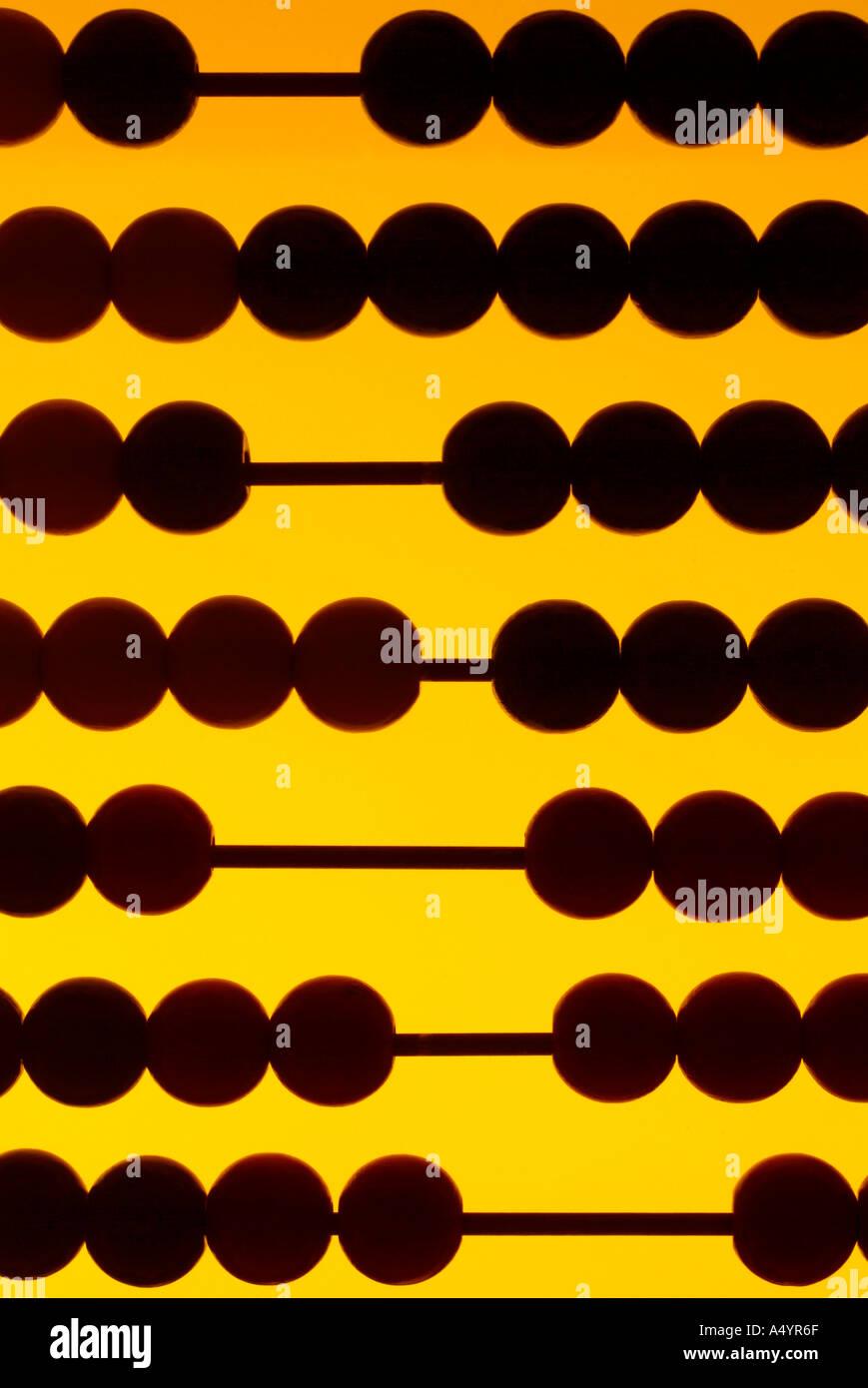 abacus Abakus - Stock Image