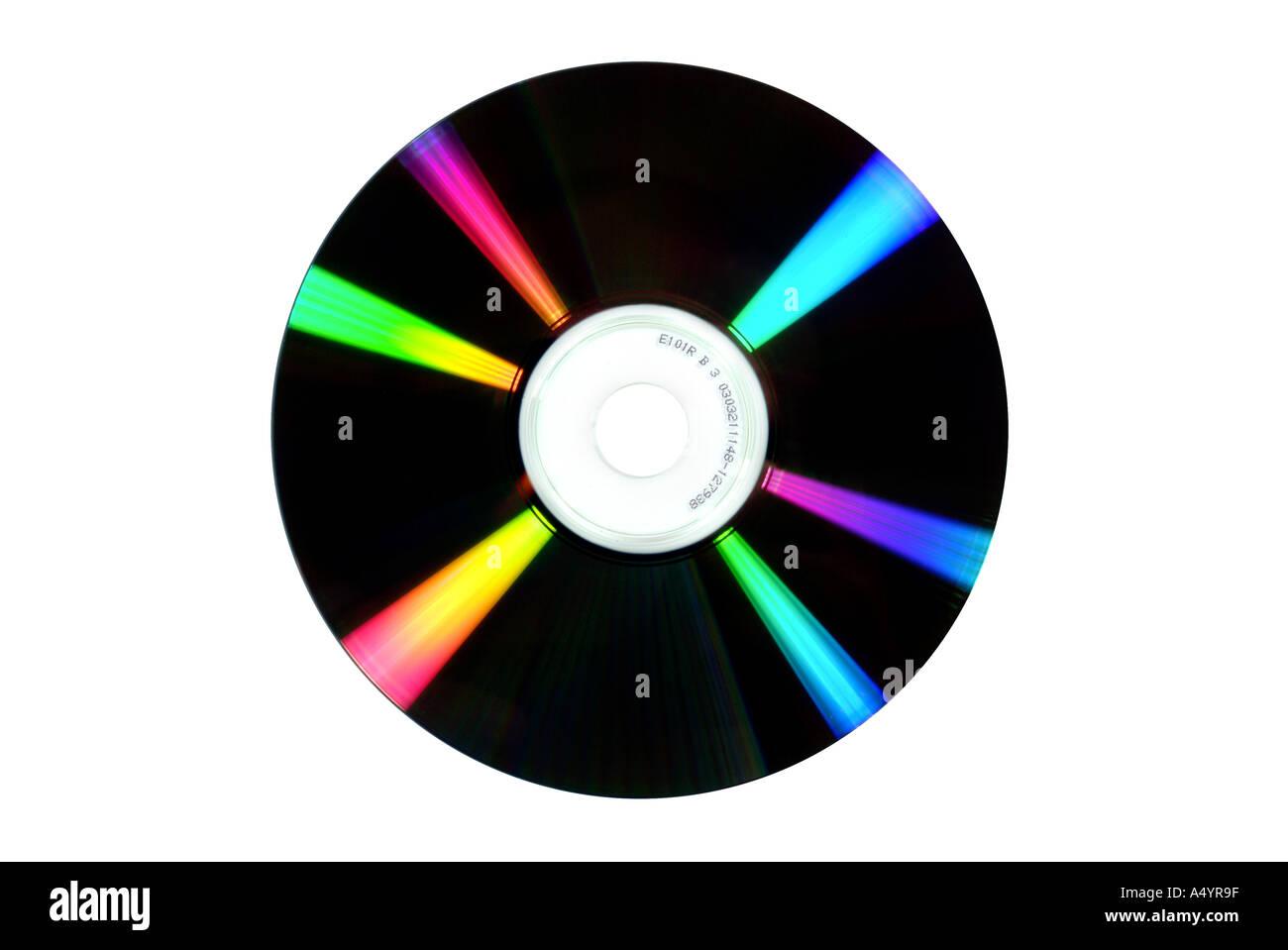 DVD CD CDR CD RW DVD R DVD RW DVD R DVD RW - Stock Image