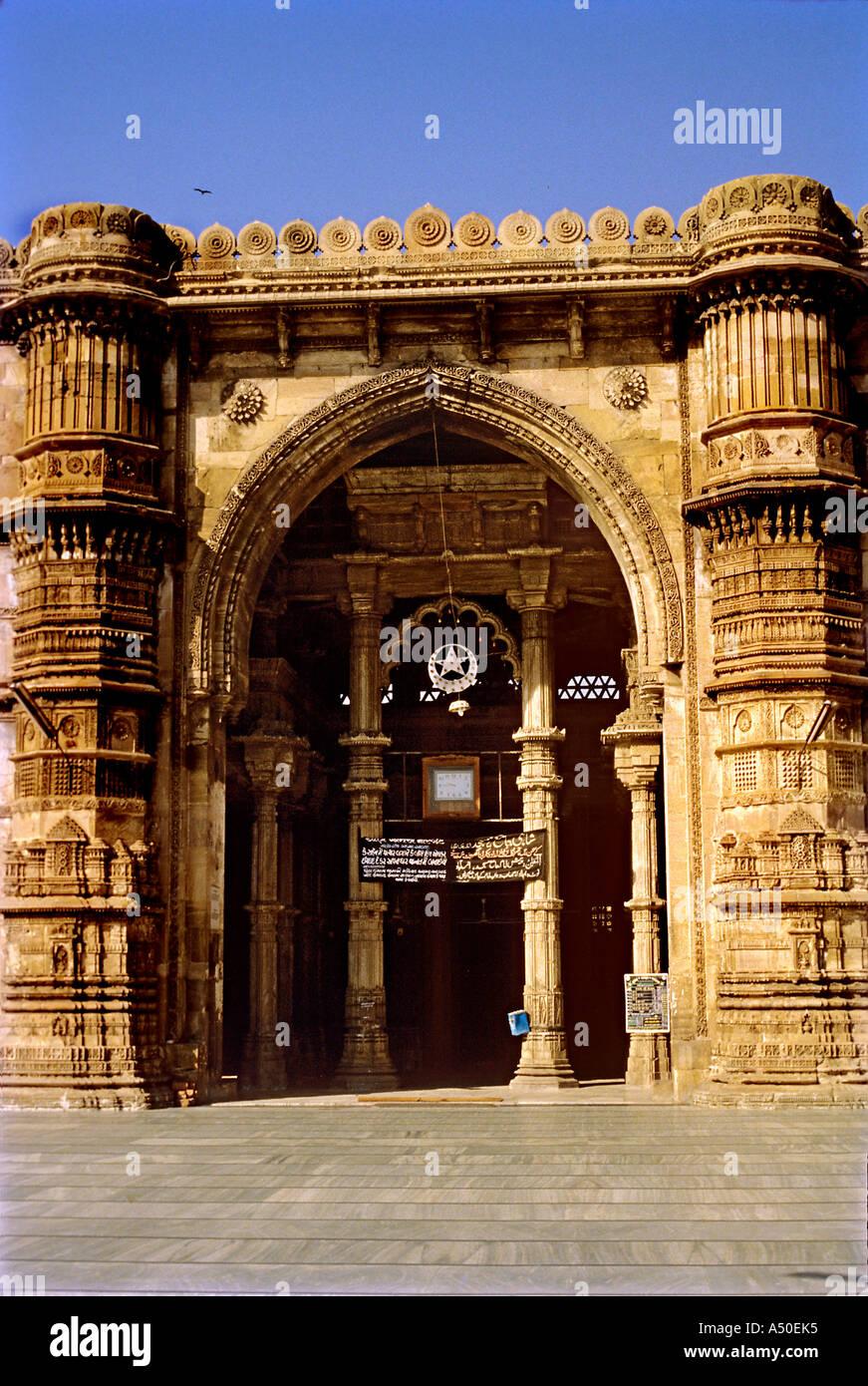 Jam e Masjid in Gujarat India - Stock Image