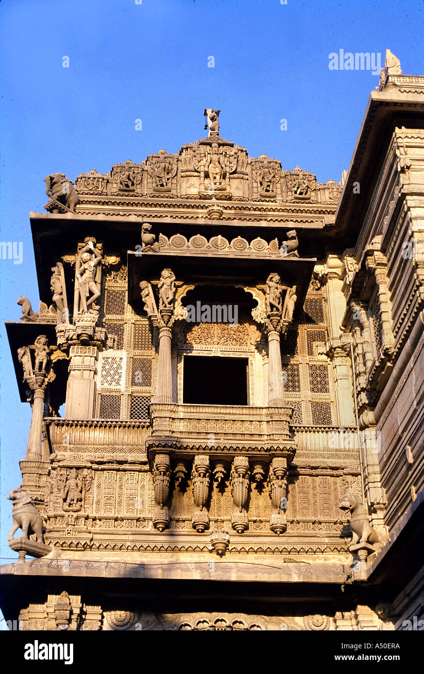 Palace in Ahmedabad in Gujarat India - Stock Image