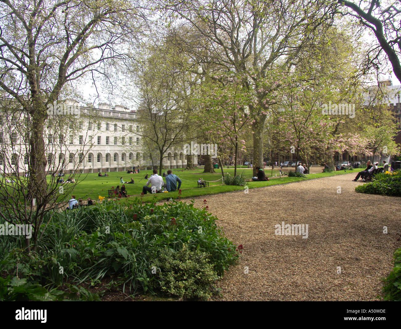 Garden Gray s Inn Inns of Court London England - Stock Image