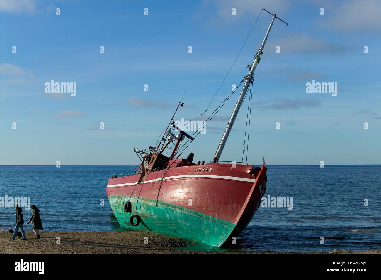 Shipwreck - Stock Image