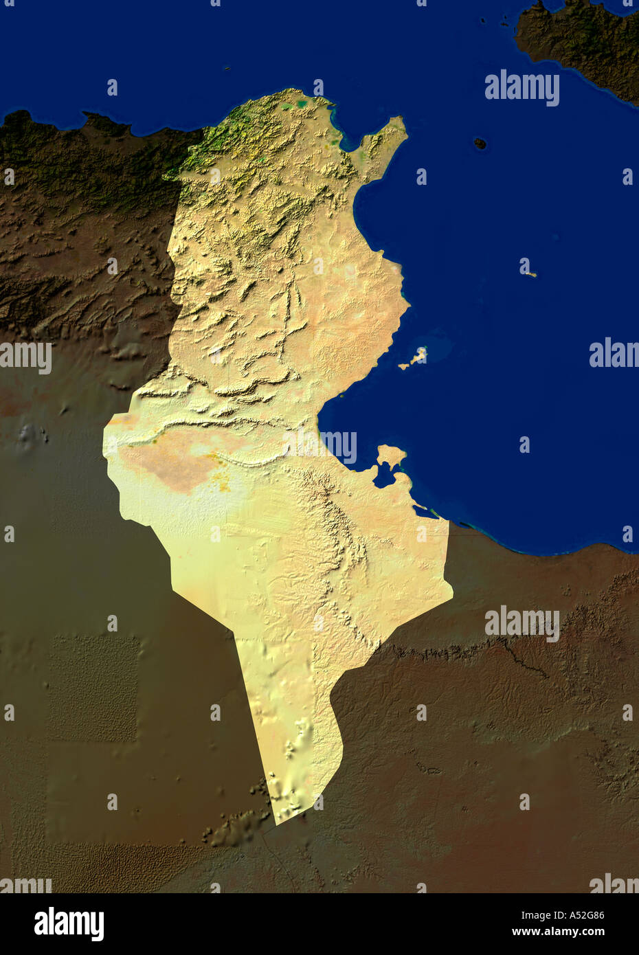 Picture of: Map Africa Tunisia High Resolution Stock Photography And Images Alamy