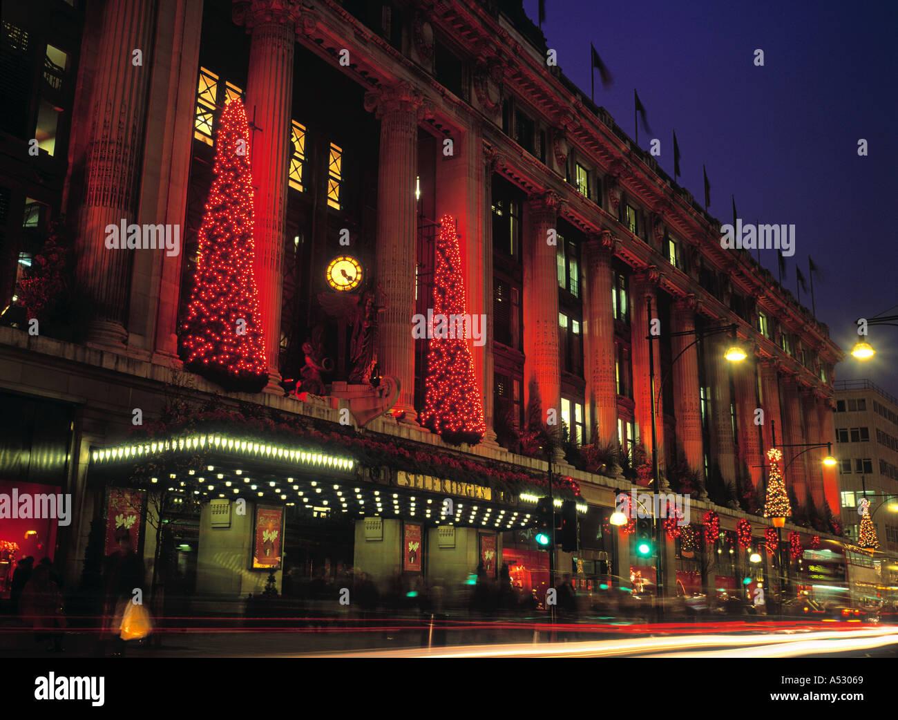 Selfridges, Oxford Street. London, England - Stock Image