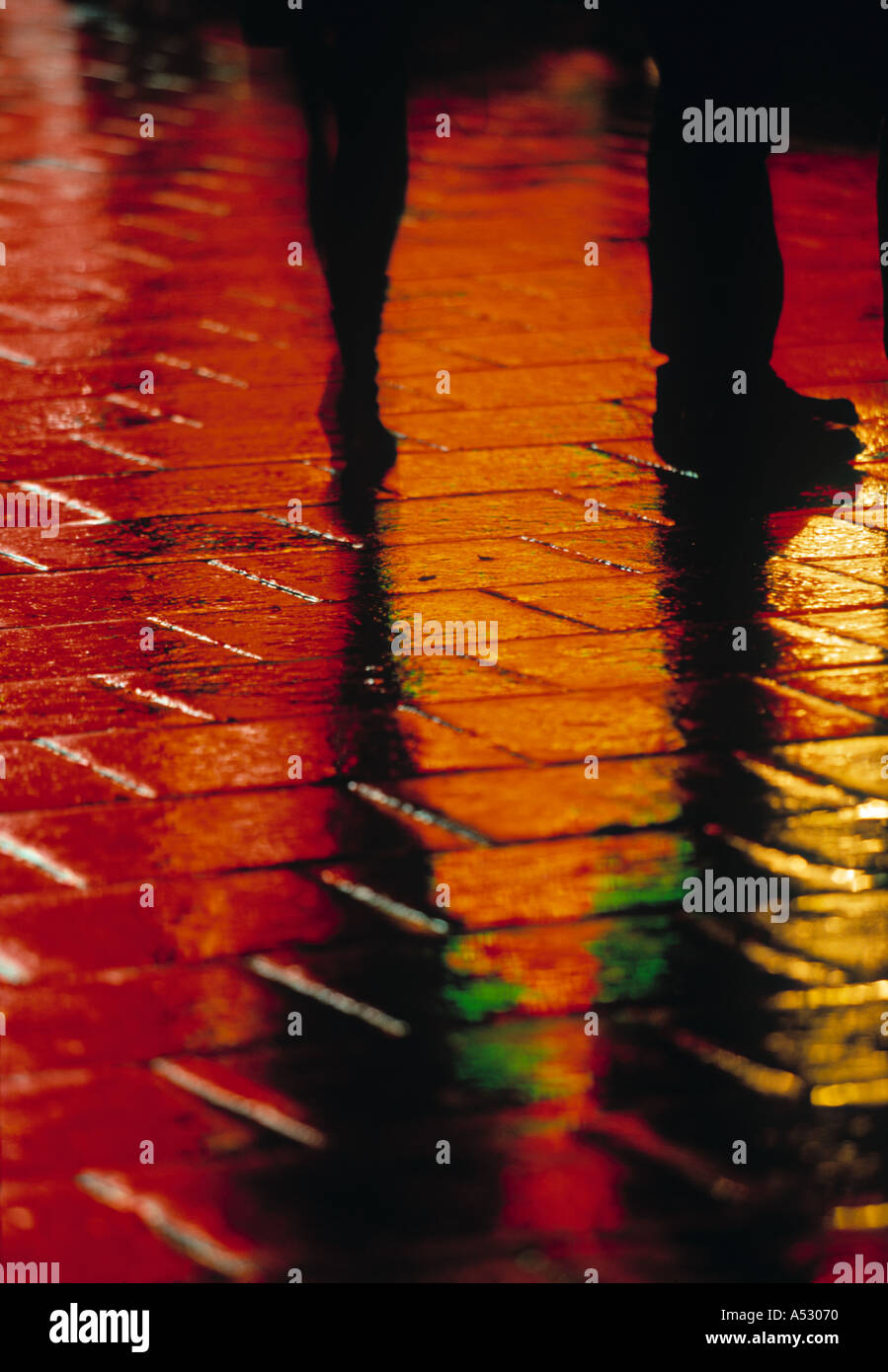 Reflections, Picadilly Circus, London, England - Stock Image