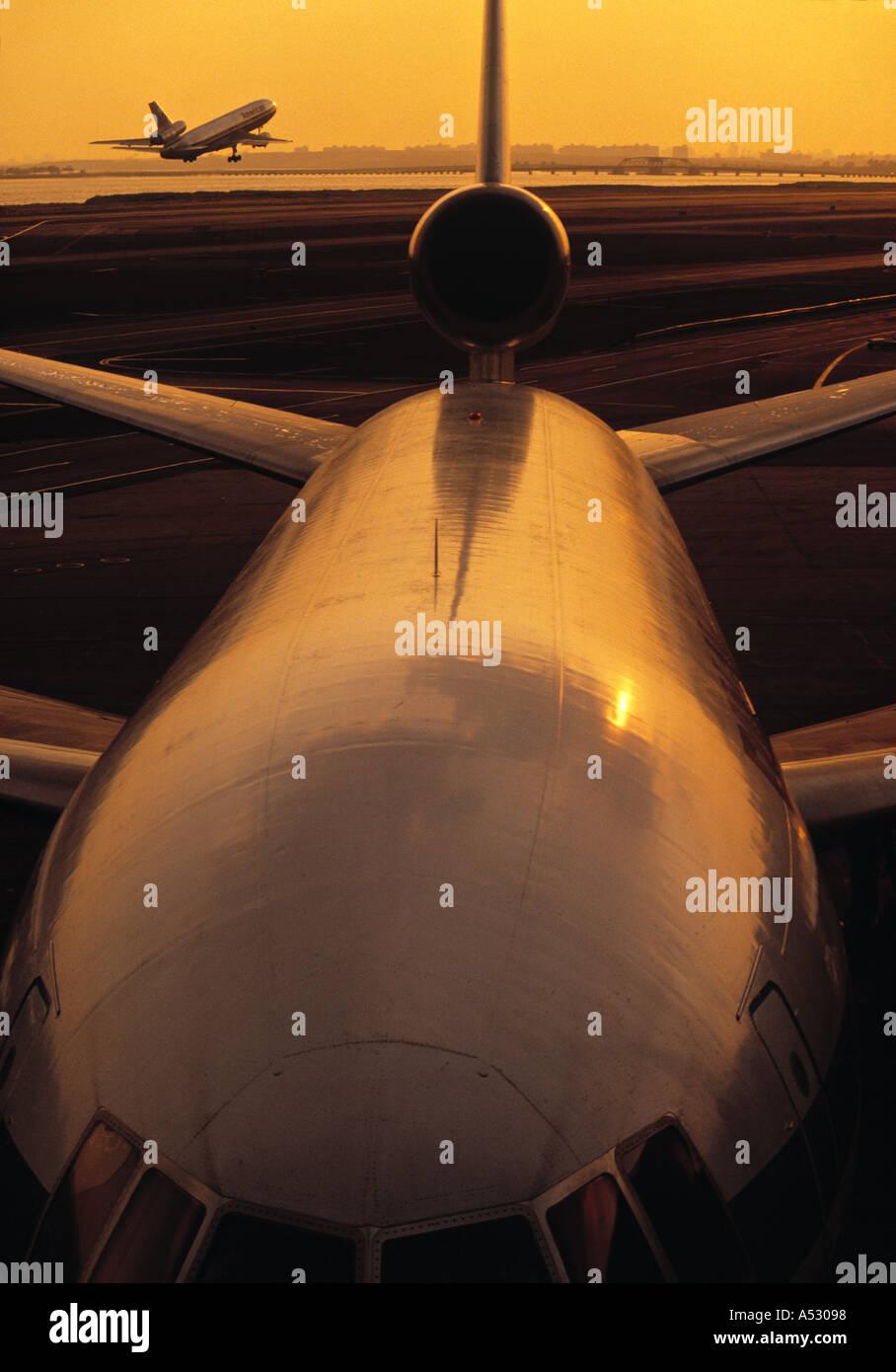 JFK Airport, New York, USA - Stock Image
