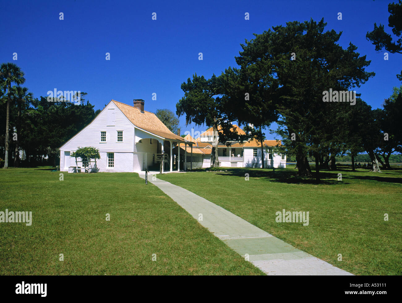 Kingsley Plantation, George Island, Florida, USA - Stock Image
