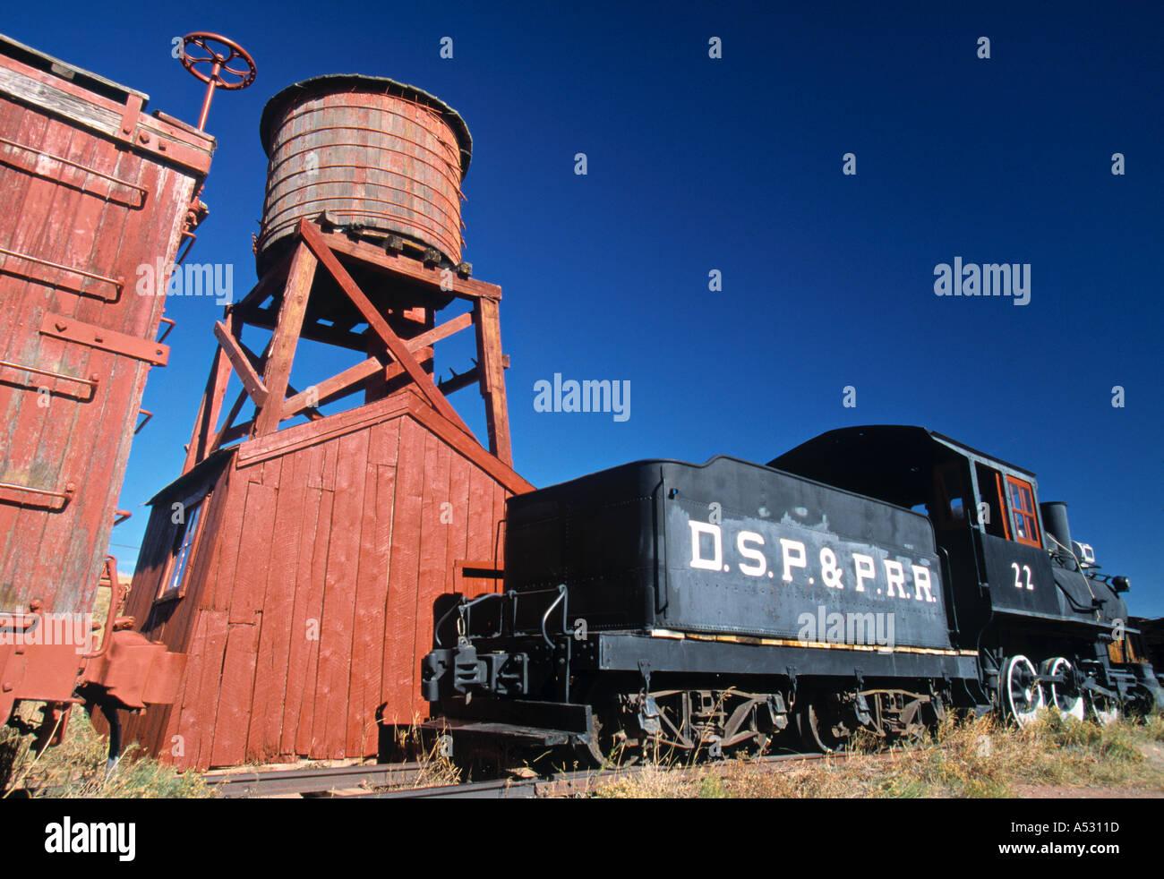 South Park Museum, Fairplay, Colorado, USA - Stock Image