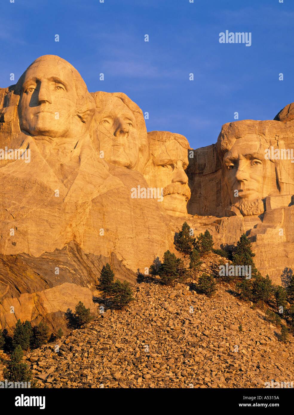 Mount Rushmore, South Dakota, USA - Stock Image