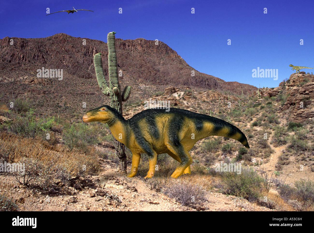 Iguanodon - Stock Image