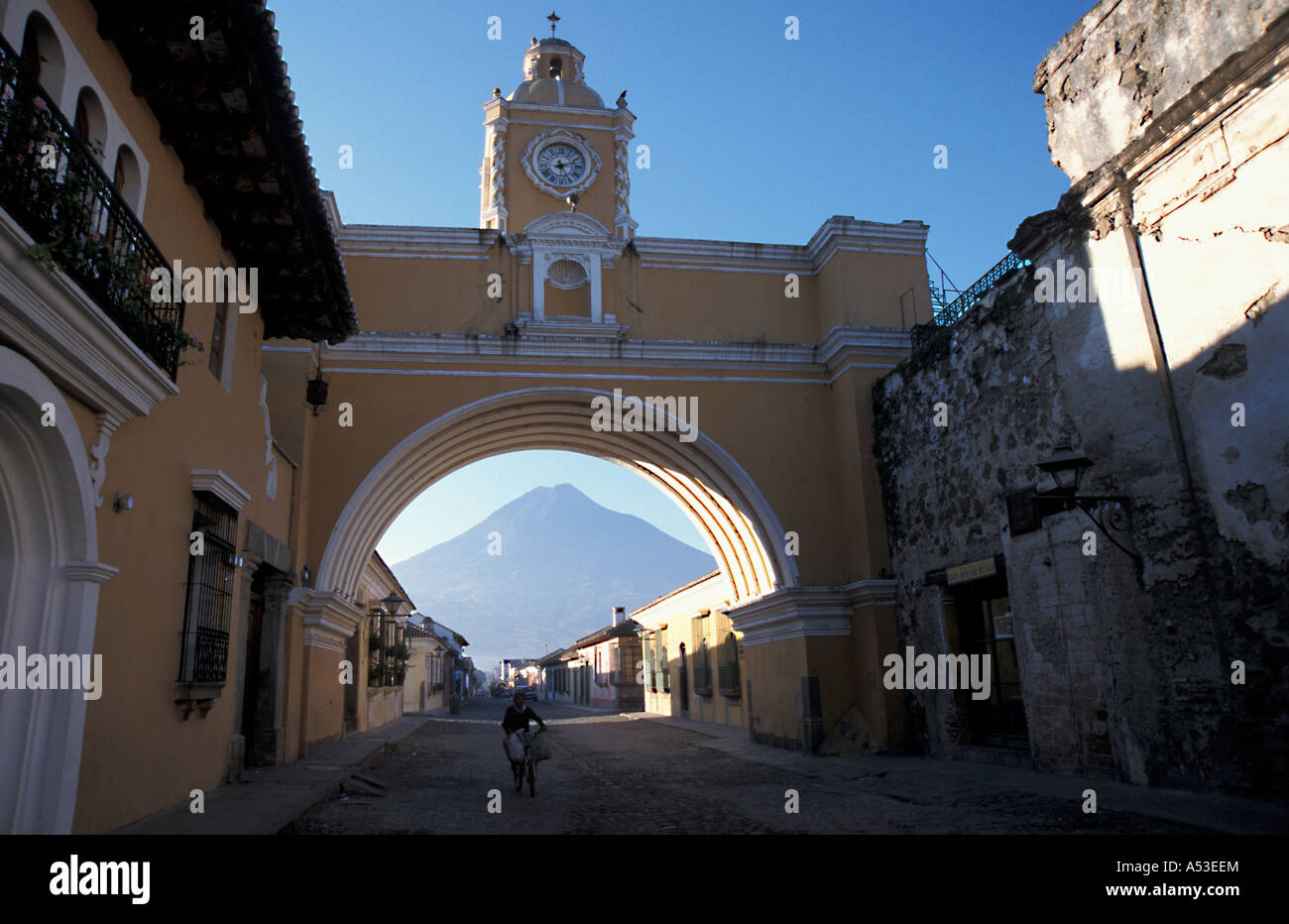 guatemala antigua country developing nation less economically developed poverty poor culture emerging market Stock Photo