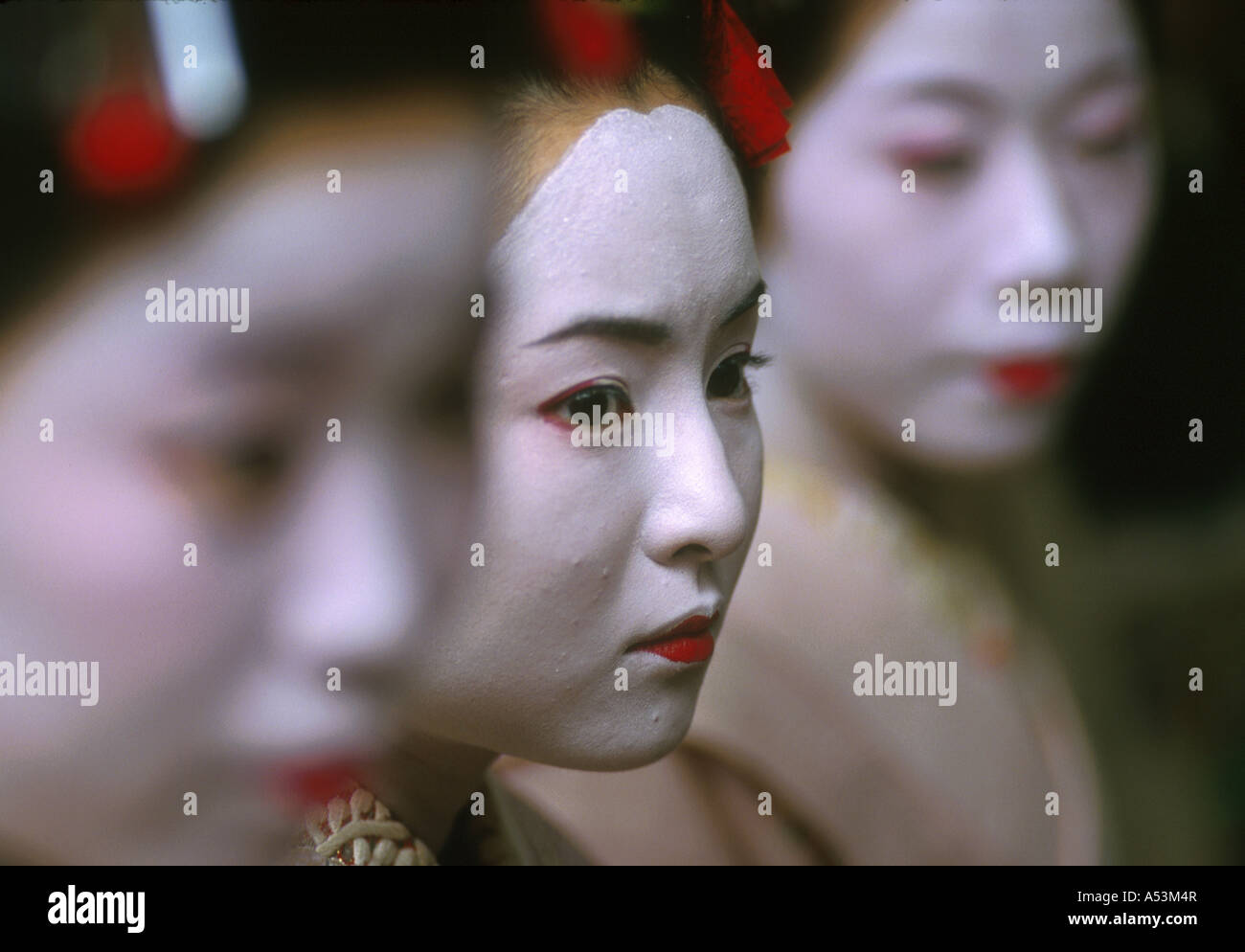 Painet ha1603 japan geisha women females ceremony gion kyoto