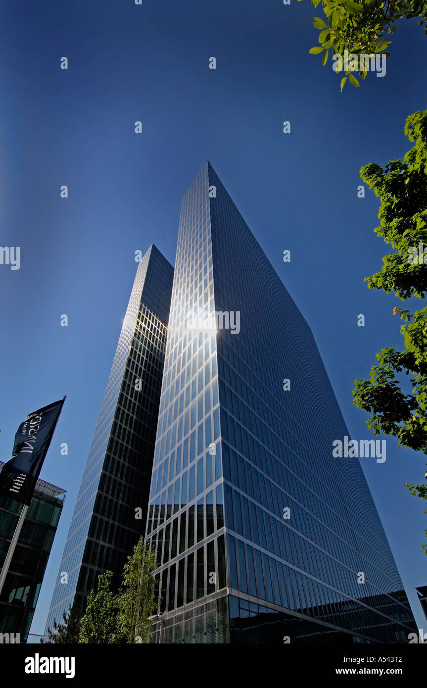 Highlight towers Munic Bavaria Germany - Stock Image