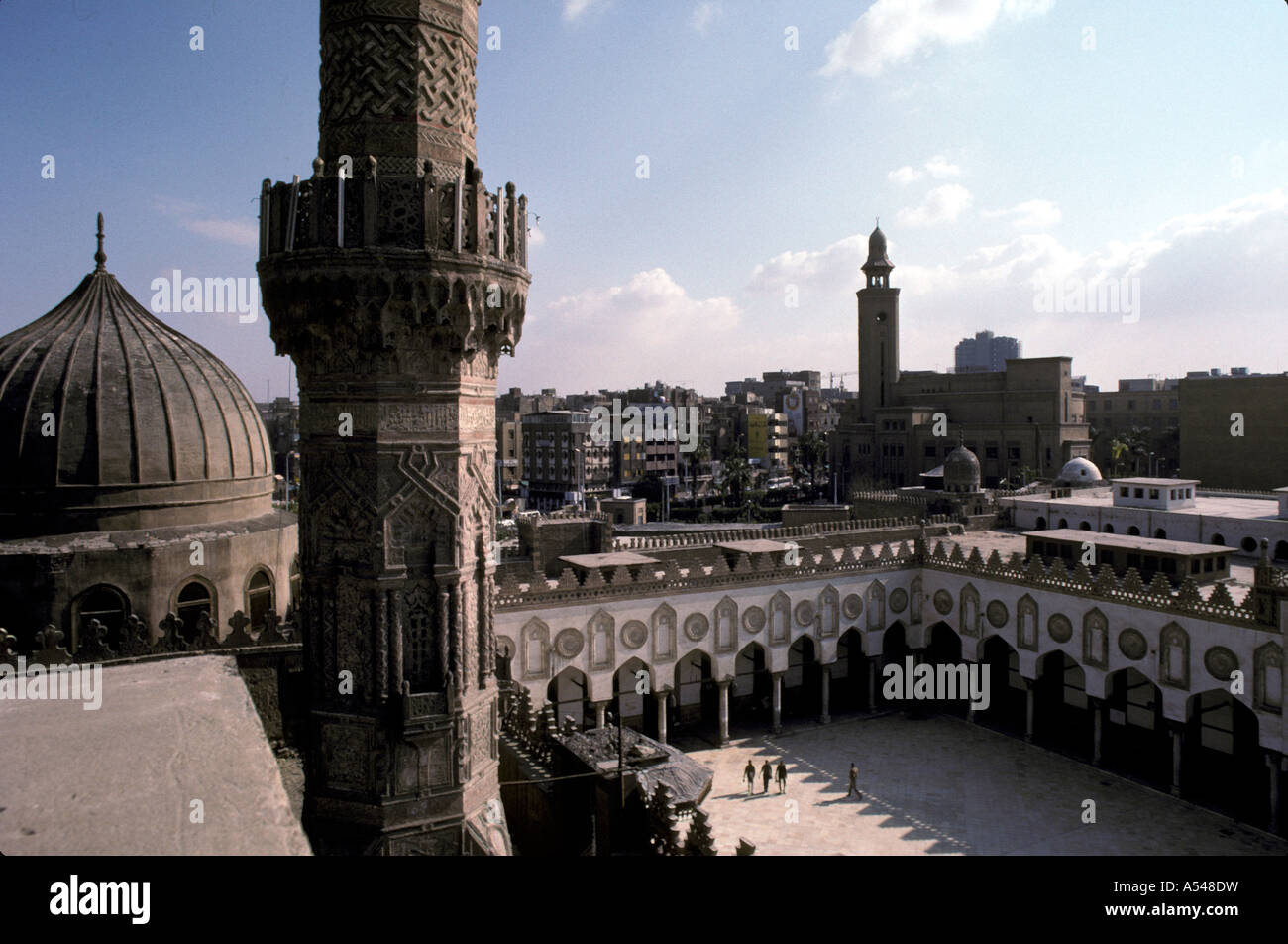 Painet hn1719 3164 egypt mosque al akbar cairo country developing nation less economically developed culture emerging - Stock Image