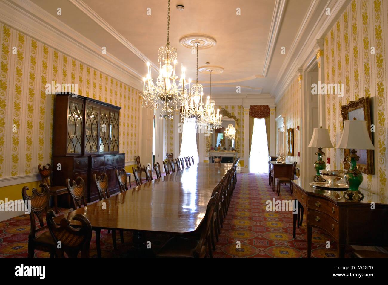 Illinois Springfield Interior Of Executive Mansion