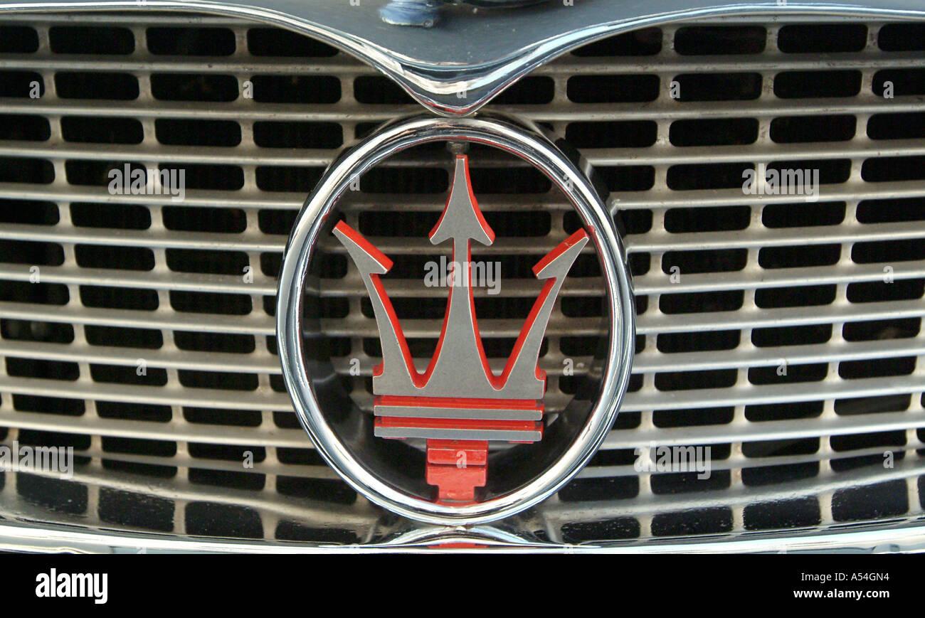 Oldtimer Meeting Big Price Of Vienna Symbol Of Car Brand Stock Photo