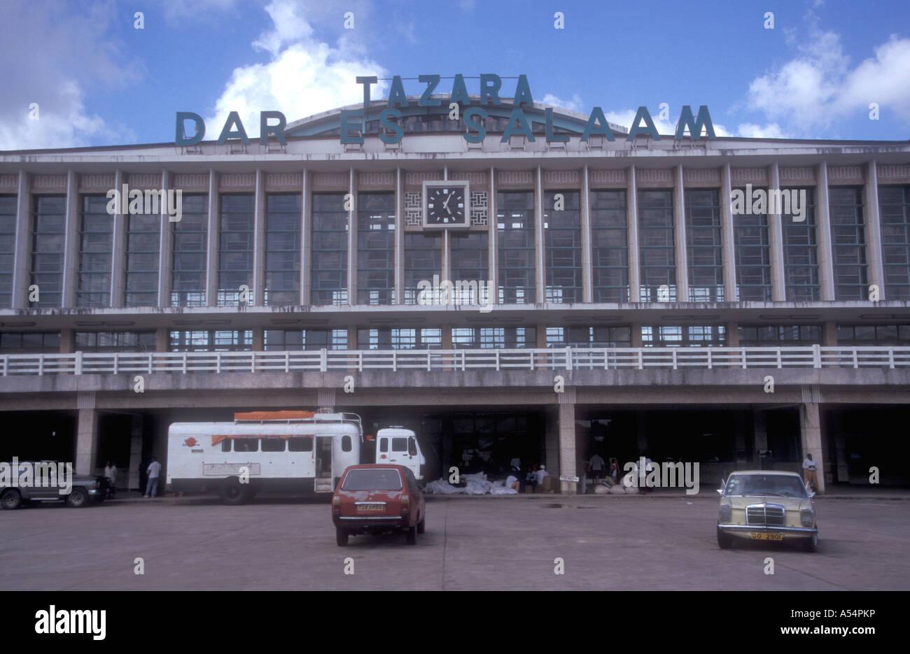 Tazara International Airport Dar es Salaam Tanzania East Africa - Stock Image