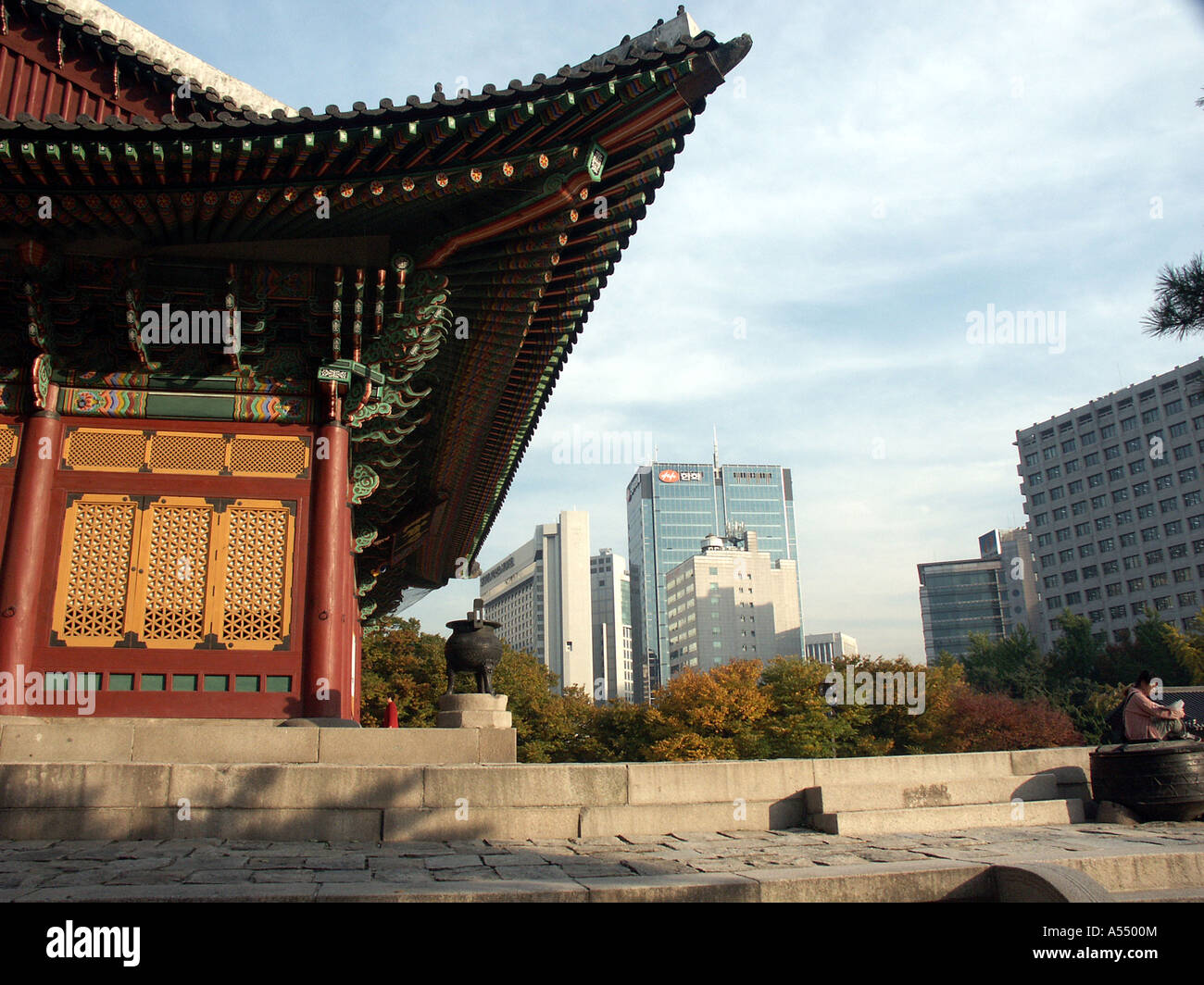 Painet ip2236 korea royal palace seoul 2003 country developing nation less economically developed culture emerging - Stock Image