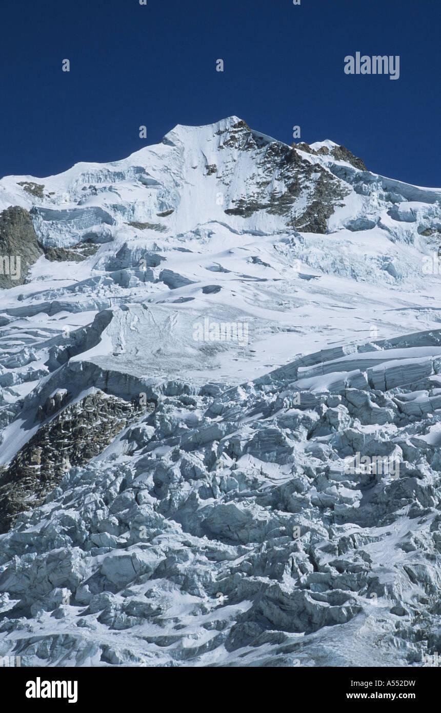 Mt Huayna Potosi, Cordillera Real, Bolivia - Stock Image