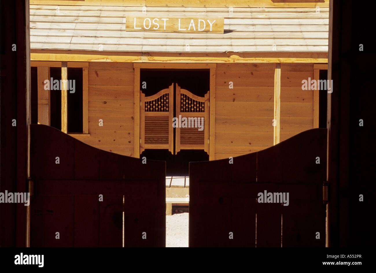 Saloon doors - Stock Image