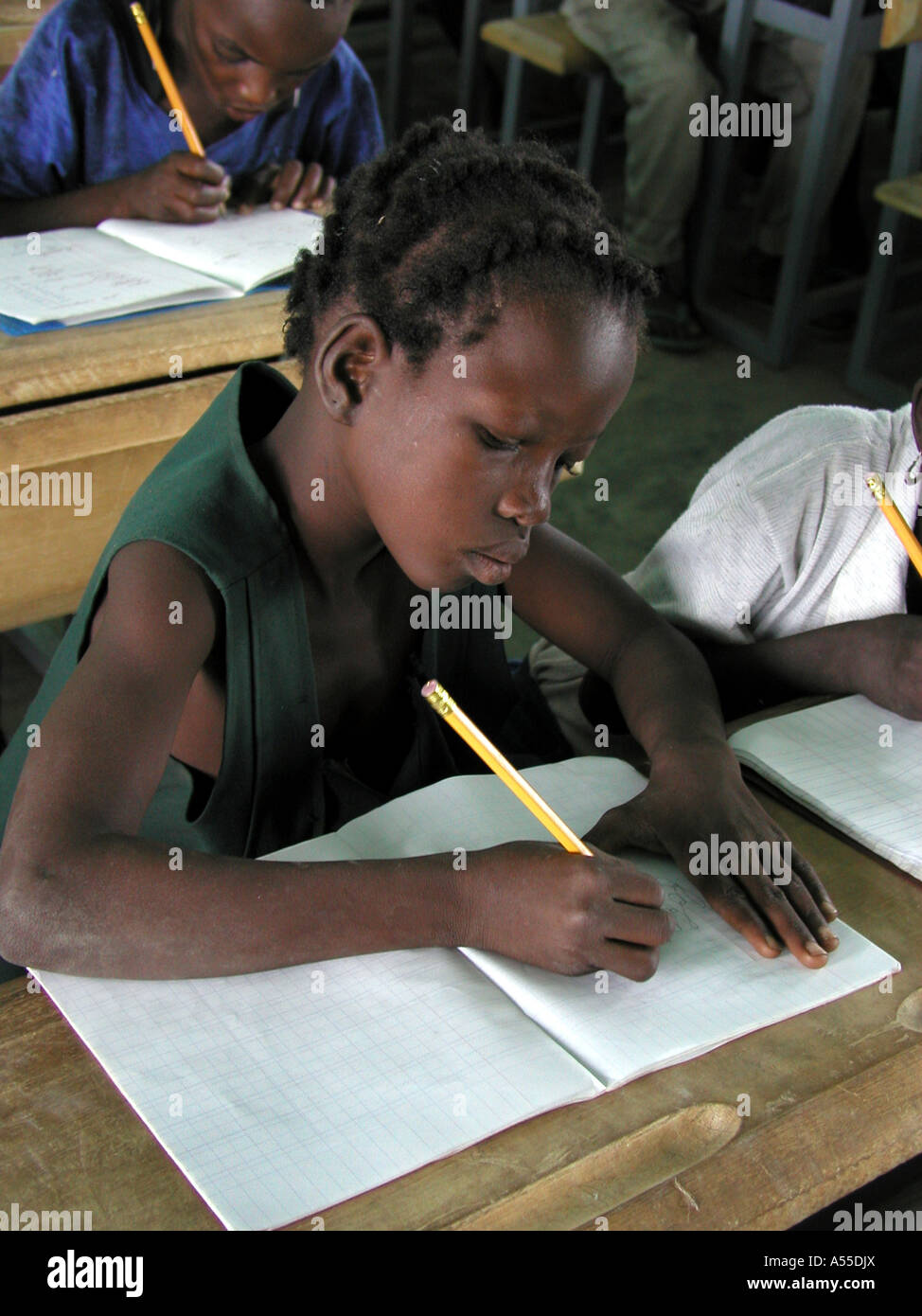 Painet ik0318 burkina faso school provided by crs fada country developing nation less economically developed culture - Stock Image