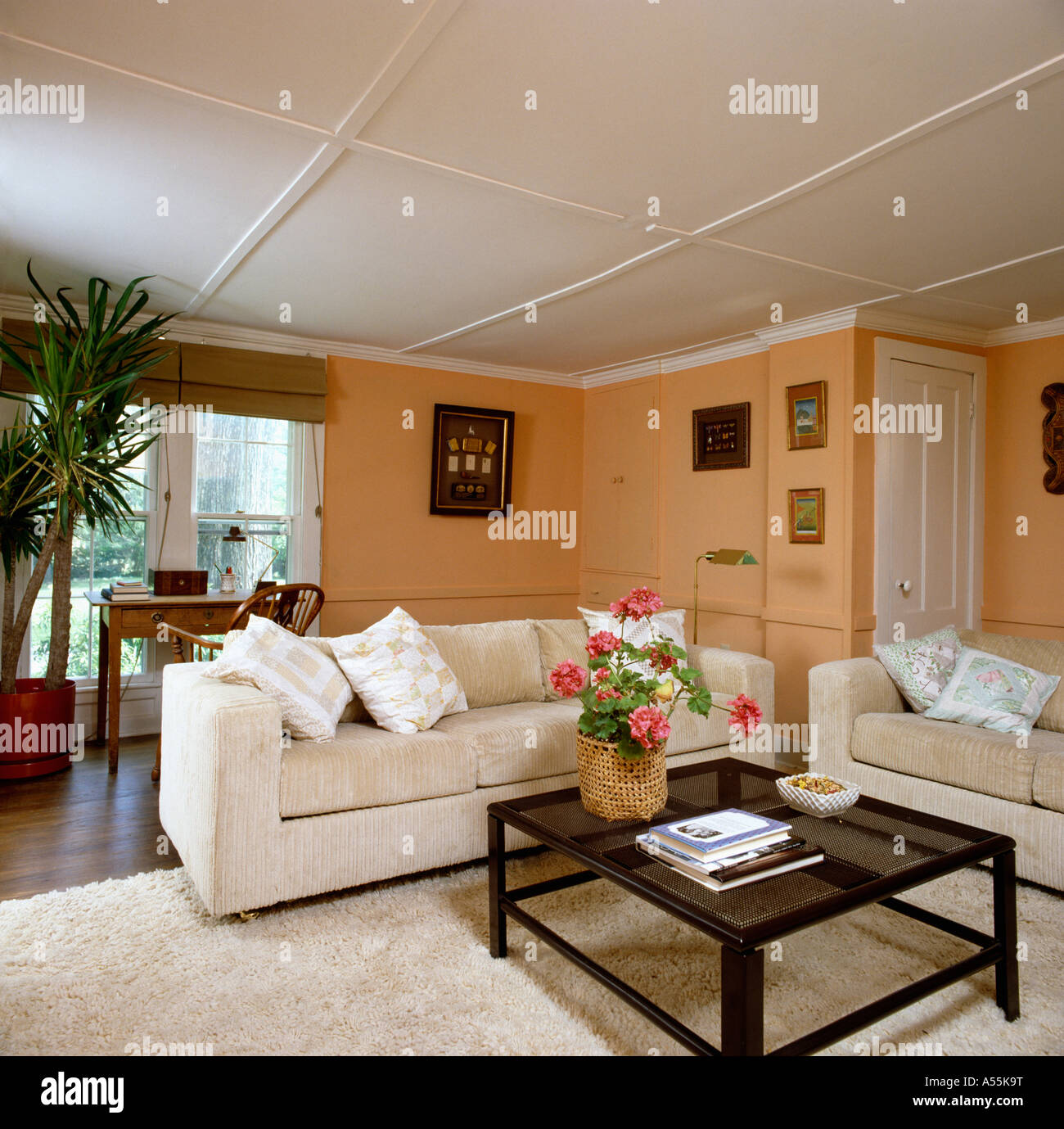 peach living room walls eighties sittingroom with colored walls and 13930