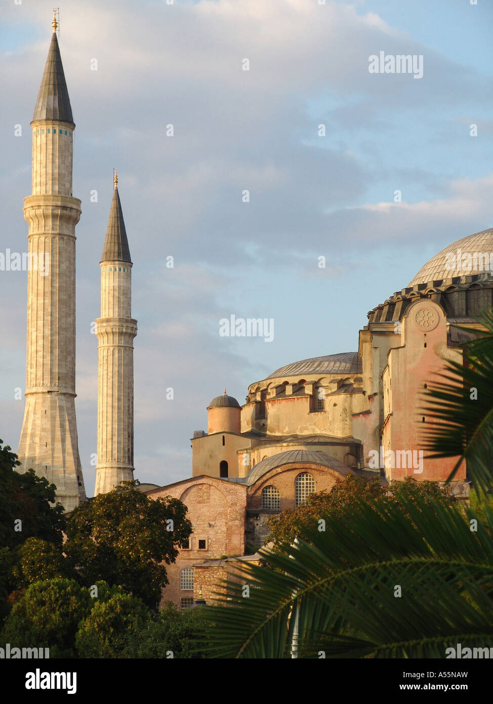 Painet is1563 turkey haghia sophia museum byzantine church dedicated 537 ad by emperor justinian converted mosque Stock Photo