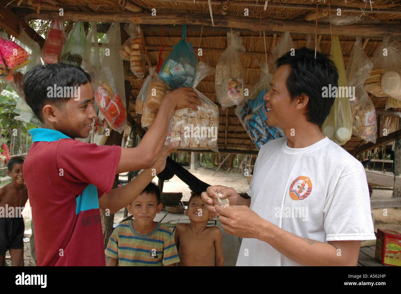 Painet ix2005 cambodia micro credit recipient bought small shop loan taken by cherock 35 country developing nation - Stock Image