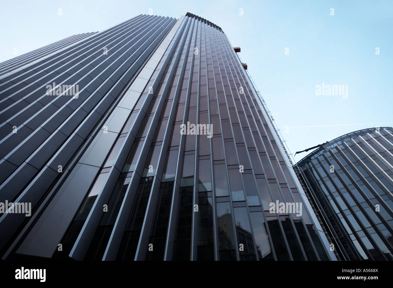 51 Lime St street Willis Building in London UK - Stock Image