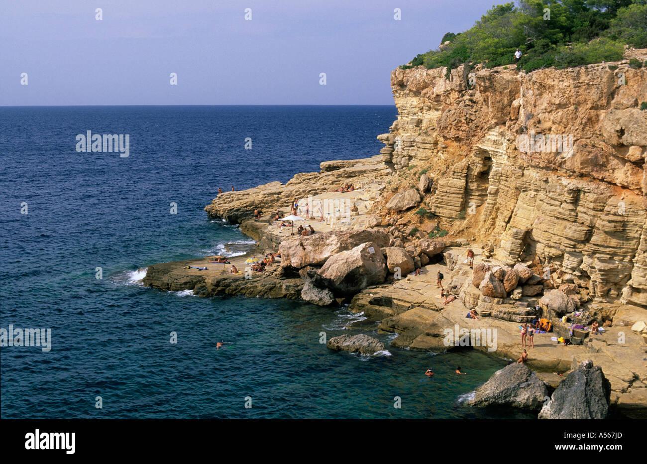 Ibiza Raco de sa Calera near Sant Antoni - Stock Image