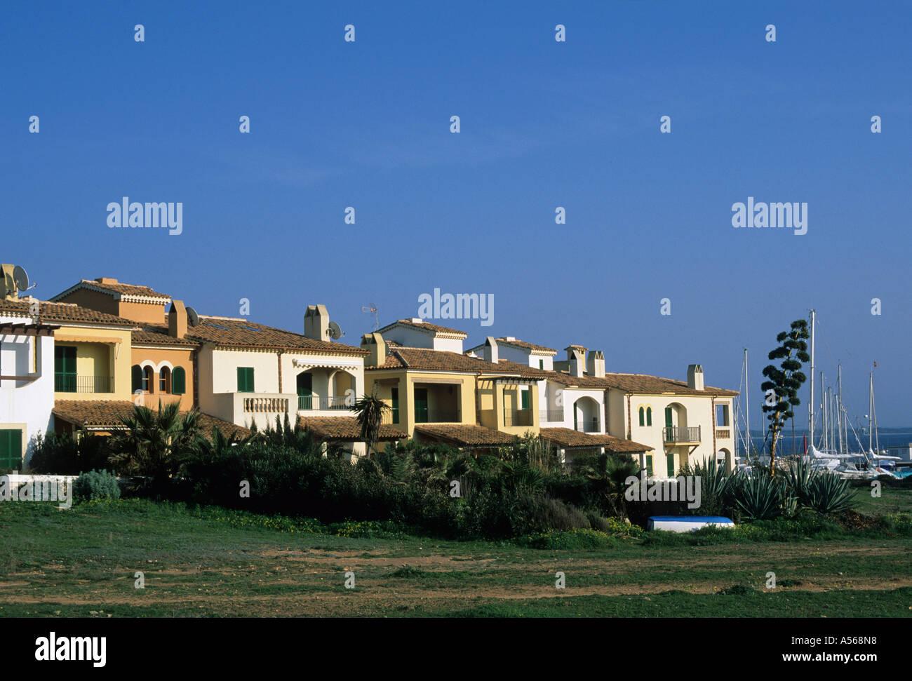 Sa Rapita Majorca - Stock Image