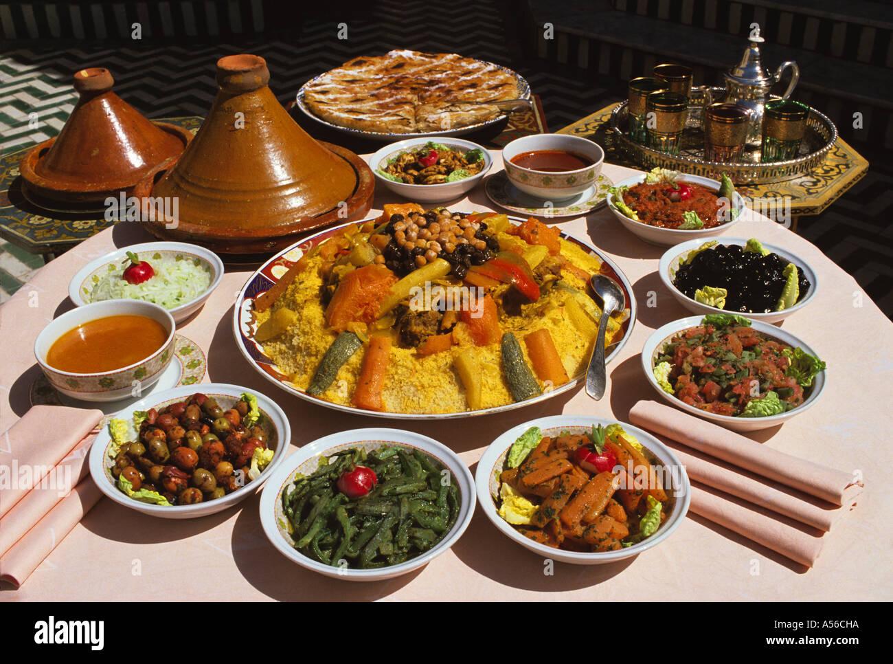 Moroccan Food Restaurant Menu