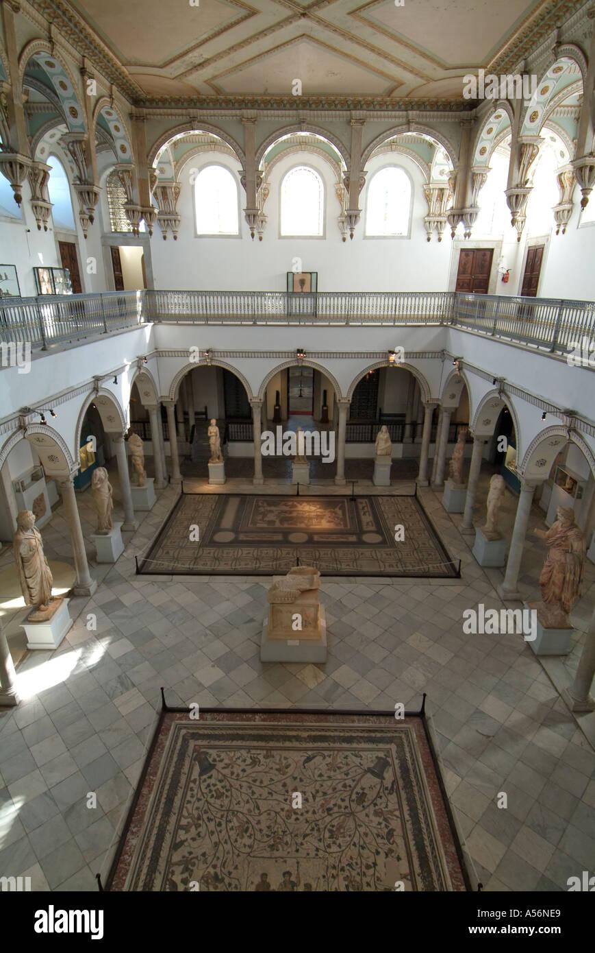 Bardo Museum, Tunis, Tunisia Stock Photo