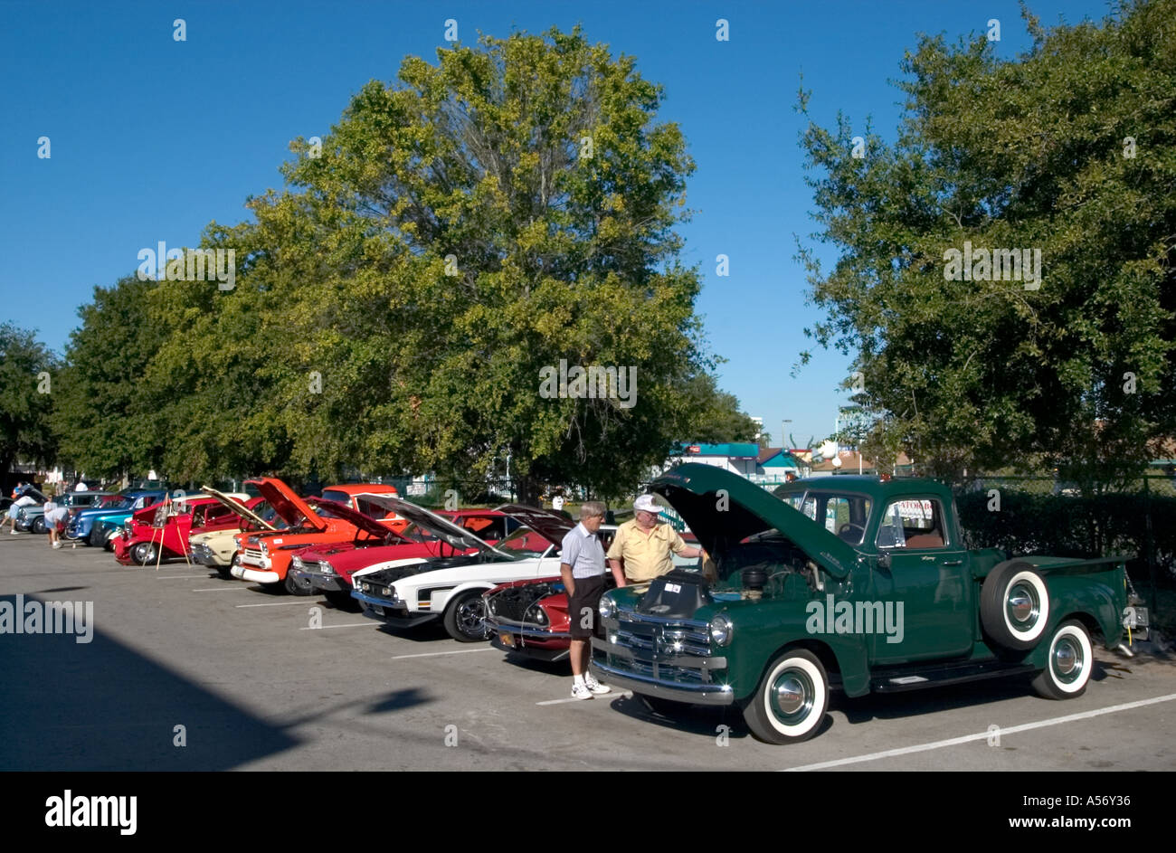 Vintage Cars, Kissimmee Old Town, Kissimmee, Orlando, Florida, USA ...