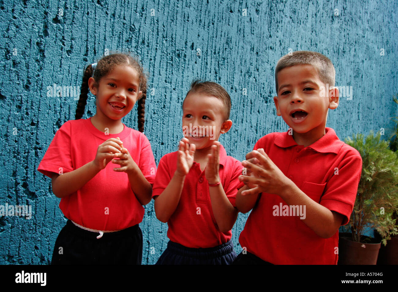 Painet ja1161 children kids venezuela primary school petanque ...