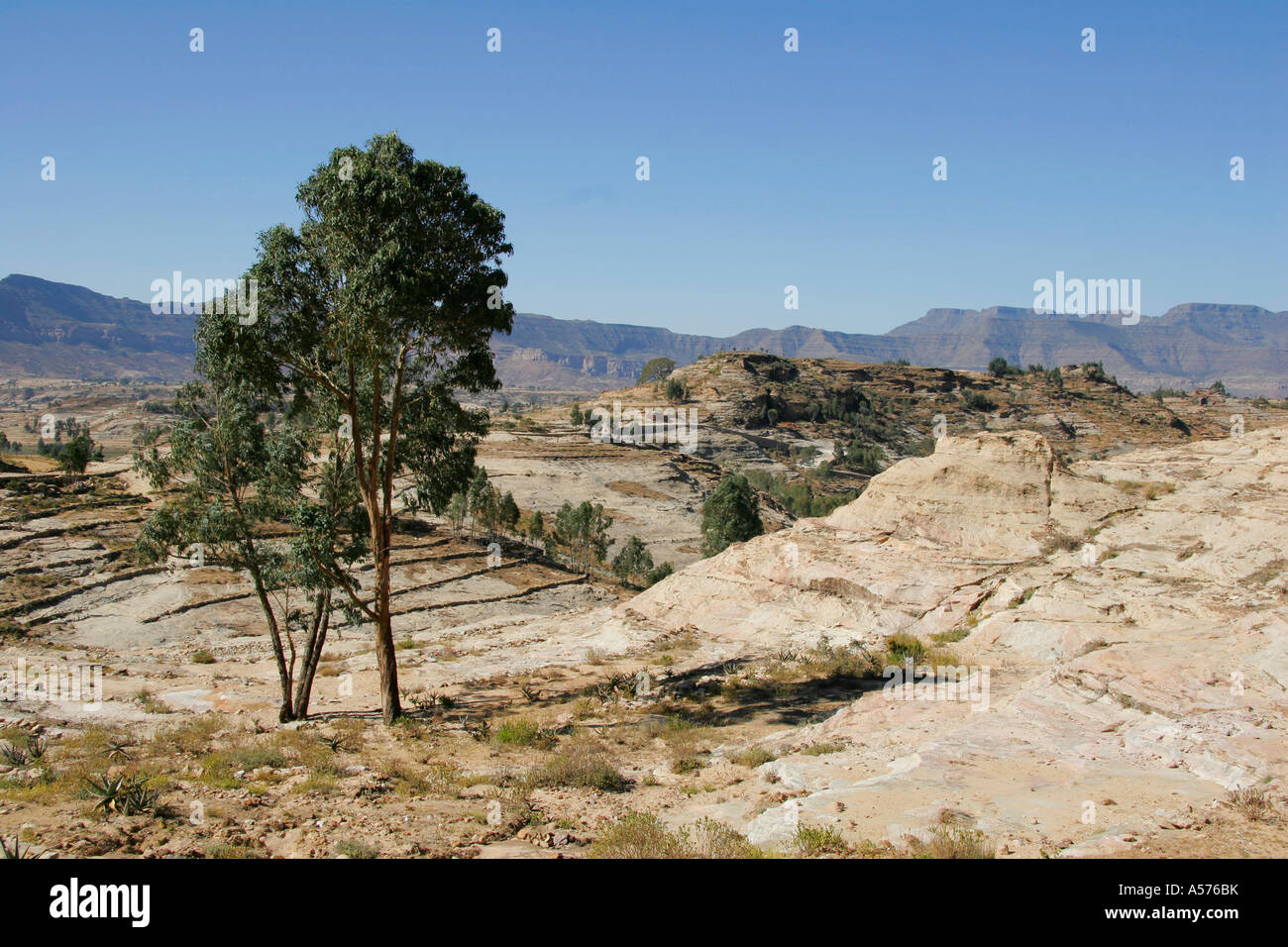 Painet jb1299 ethiopia landscape adigrat africa country developing nation less economically developed culture emerging - Stock Image