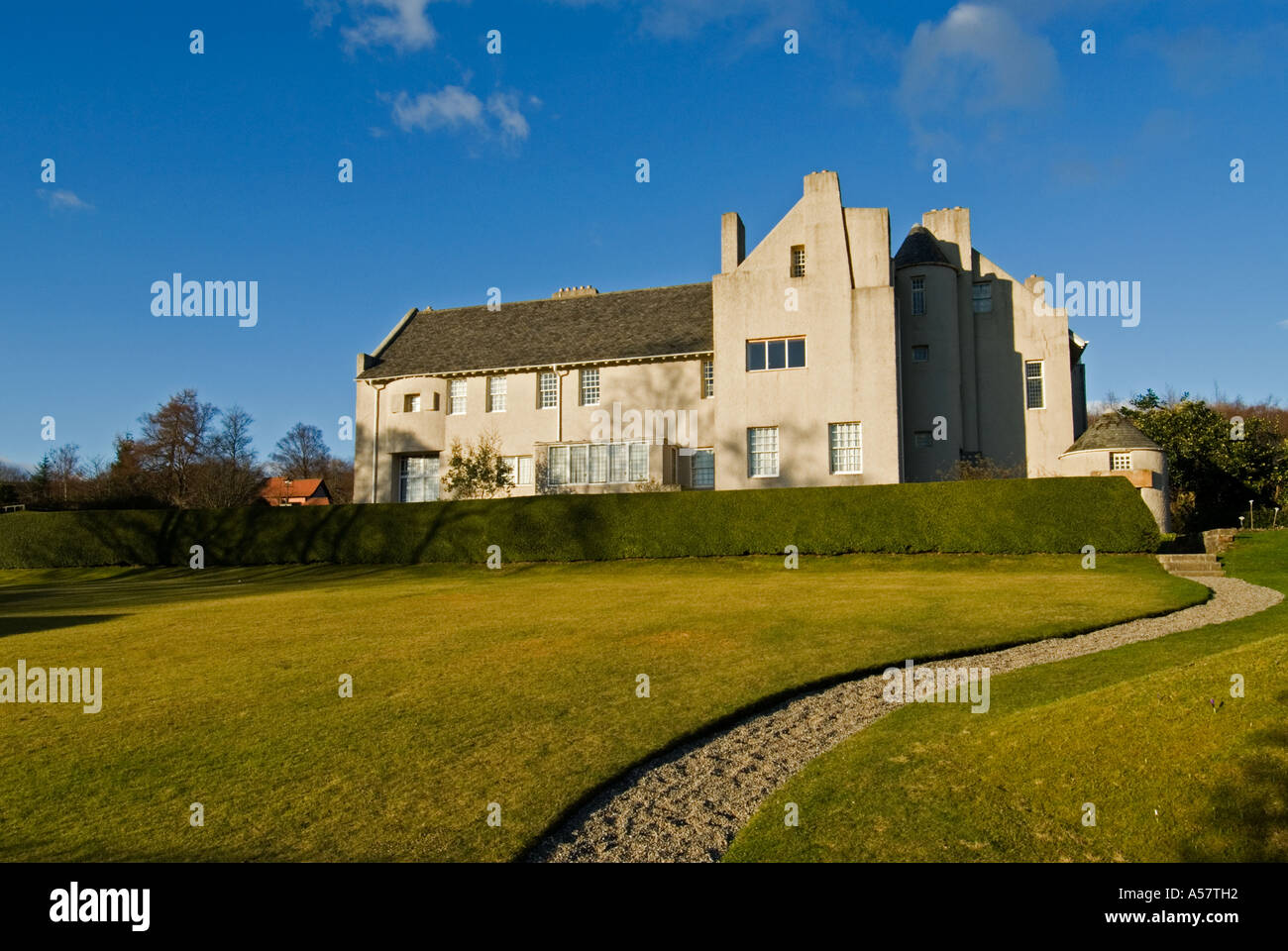 hill house mackintosh stock photos hill house mackintosh stock