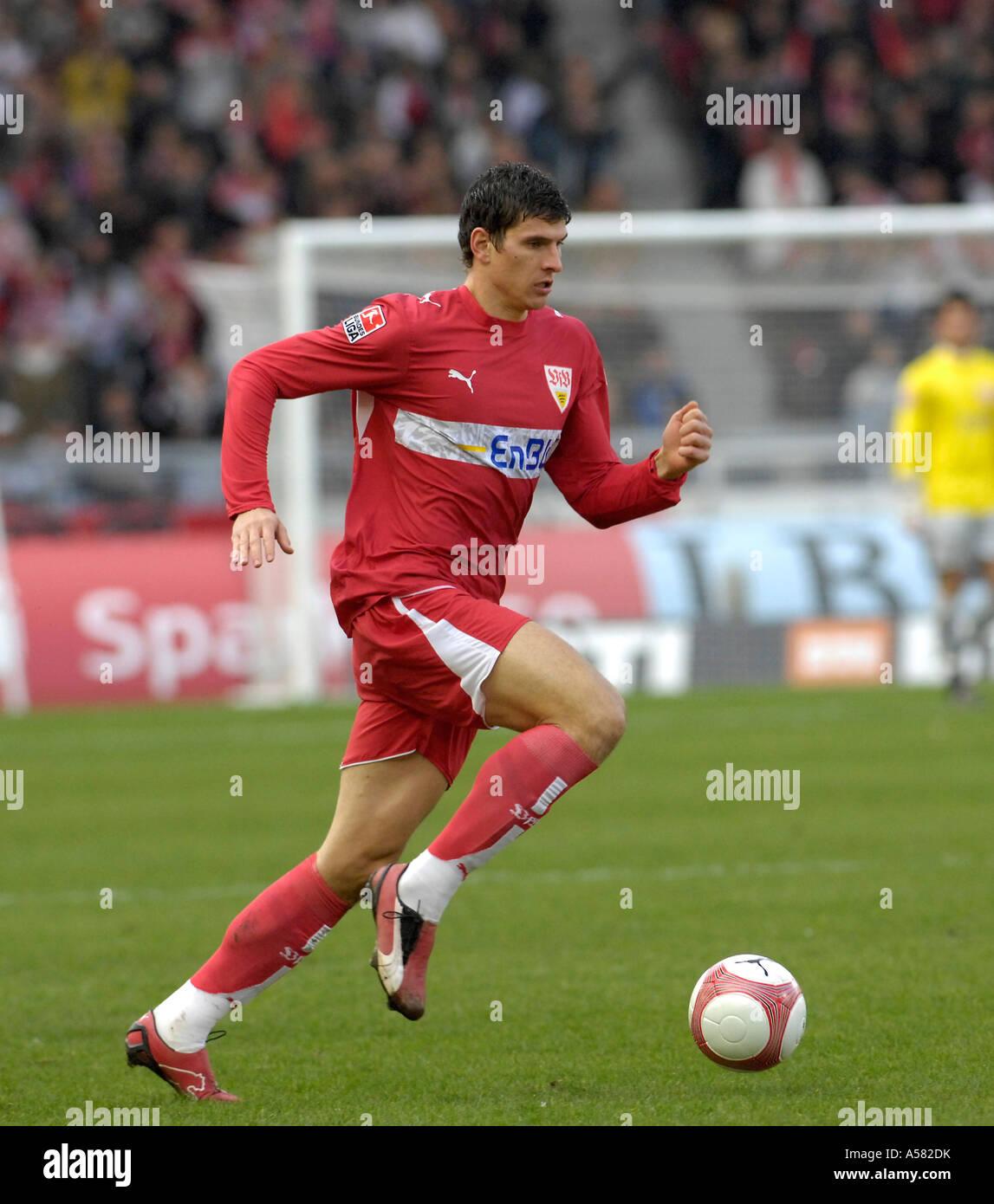 Mario GOMEZ VfB Stuttgart - Stock Image