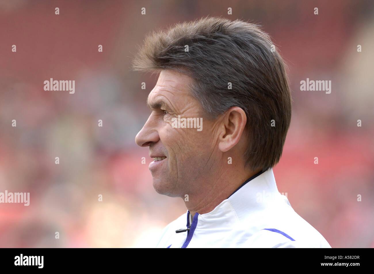 Coach Klaus AUGENTHALER VfL Wolfsburg Germany - Stock Image