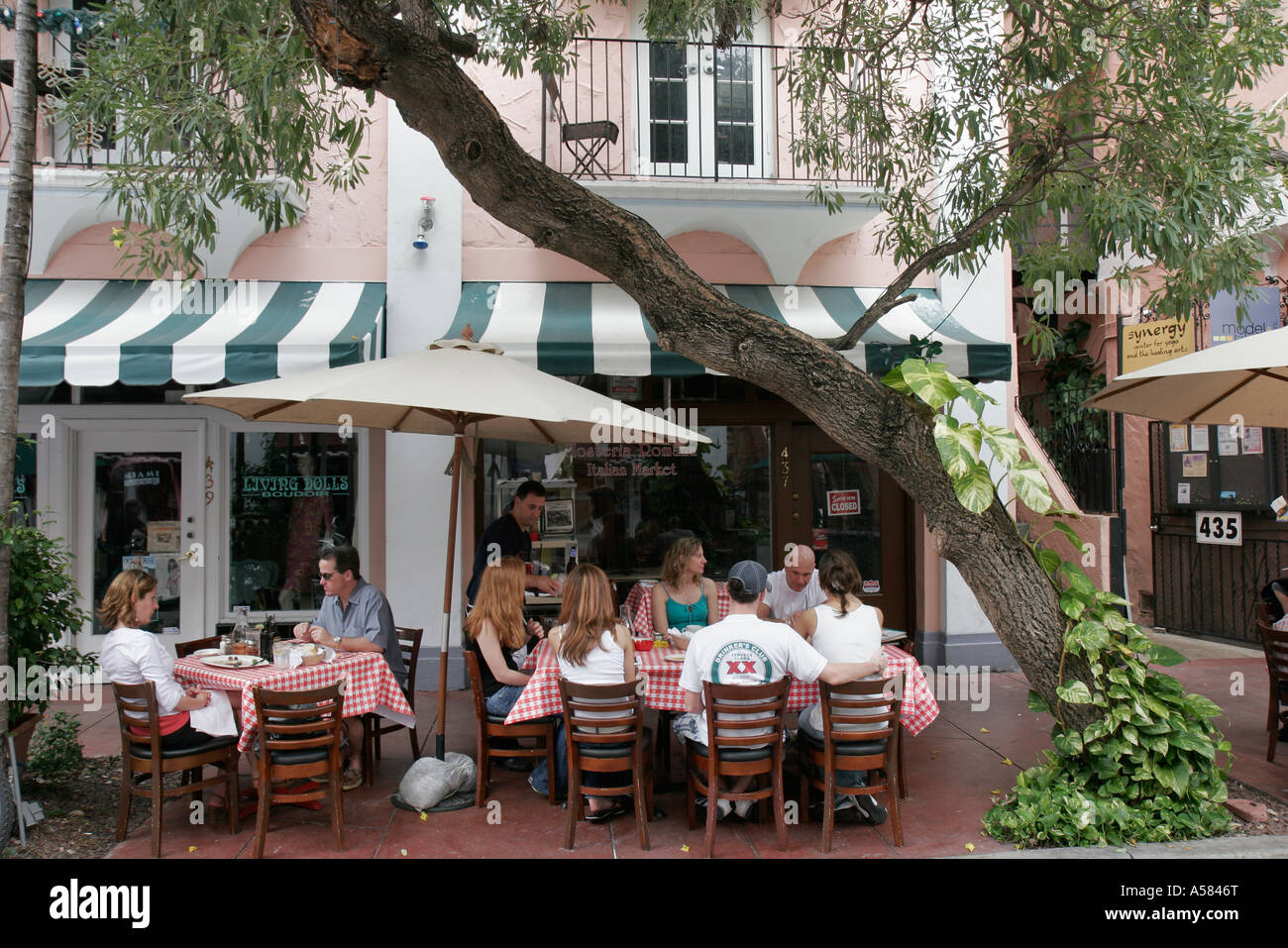 Italian Restaurants On Espanola Way South Beach