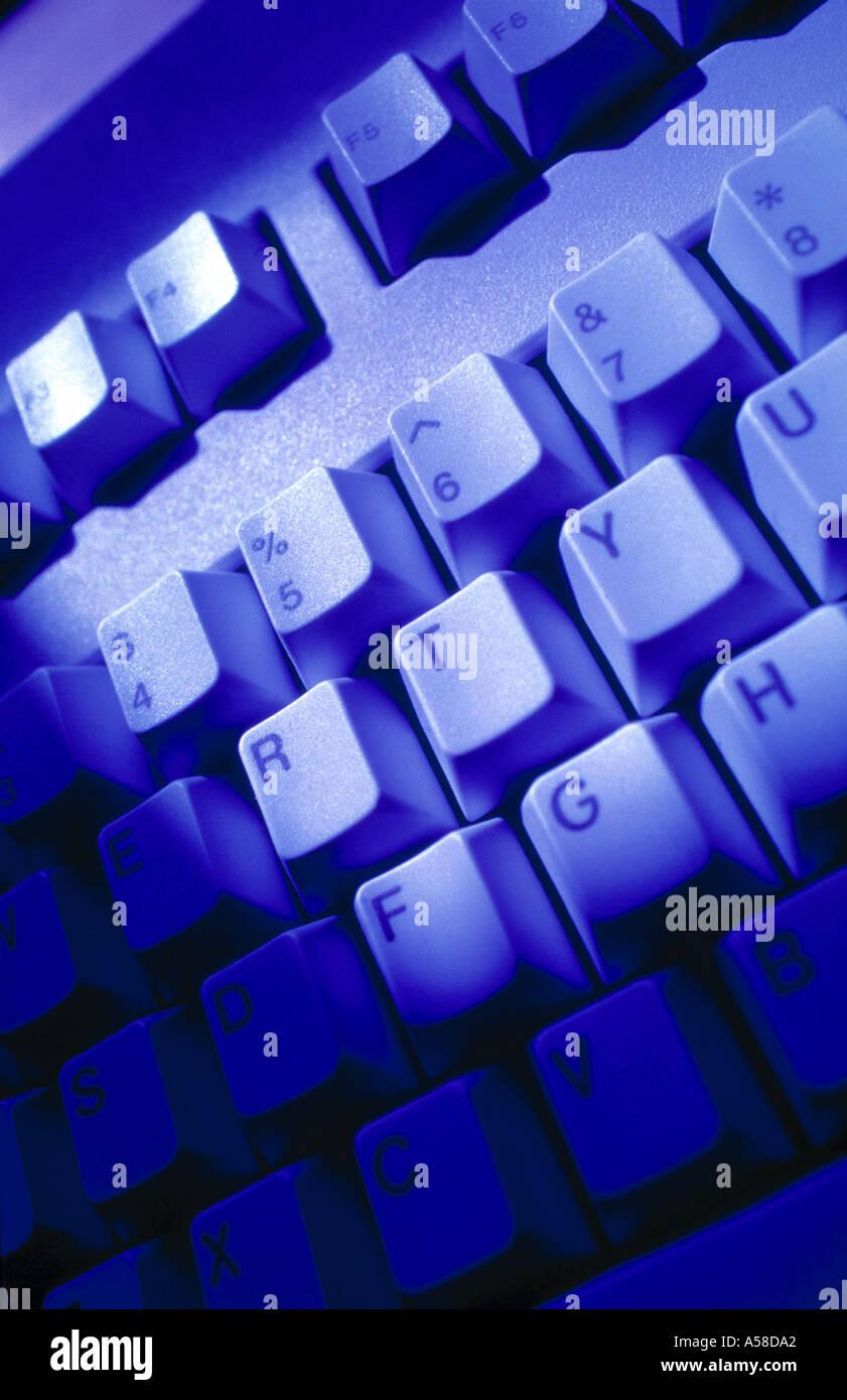 Computer Keyboard - Stock Image