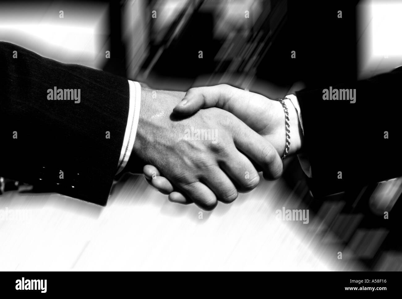 Business, Handshake - Stock Image